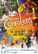 Affiche du festival de Confolens 2009